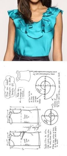 26 ideas sewing clothes couture robes for 2019 Easy Sew Dress, Diy Dress, Make Your Own Clothes, Diy Clothes, Blouse Patterns, Clothing Patterns, Sewing Blouses, Necklines For Dresses, Simple Dresses