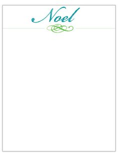 Free Christmas Letter Templates  Crafts Christmas Ribbon And