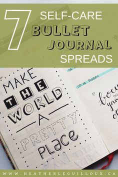 Although there are many uses for bullet journals, and each one will be as unique as the writer who owns it, the benefits of using a bullet journal on your mental health are undeniable. Here are 7 self-care bullet journal spreads to get you started.