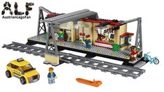 Lego City 60050 Train Station / Bahnhof - Lego Speed Build Review