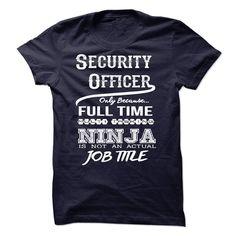 Ninja Security Officer T-Shirt T Shirt, Hoodie, Sweatshirt