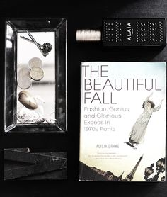 Monthly #fashion #book recommendation on www.modagrid.com, The Beautiful Fall by Alicia Drake.