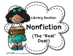 FREE Classroom Library Section Labels