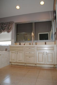 Rustoleum cabinet transformations in glazed quilter's white - armoire and dressers are getting this treatment