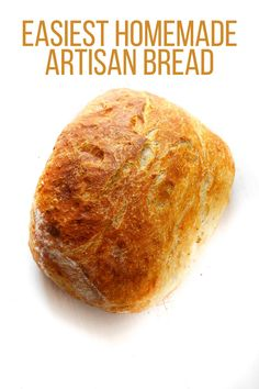 Homemade artisan bread/one free form loaf, or I think perhaps could make about 3 or 4 bread bowls for soup