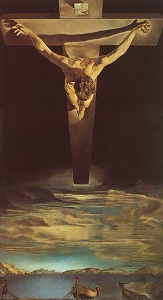 Le Christ de St-Jean-de-la-Croix, 1951 - Savalor Dali