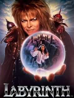 Labyrinth... .always a good halloween idea, especially if you have a secret ambition to be like david bowies amazingness in this movie!!!! love love love love love it!