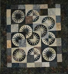 Desert Sky, Quiltworx.com, Made by Valerie Miller and taught by CI Sandy Lueth.