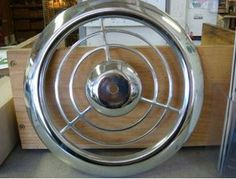 Big find: NOS chrome Emerson Pryne exhaust fan grille covers available from House of Fans - Retro Renovation Kitchen Exhaust Fan Cover, Kitchen Vent Fan, Bathroom Exhaust Fan, Aqua Kitchen, Turquoise Kitchen, Vintage Kitchen, Old Wallpaper, Retro Renovation, Decorating Blogs