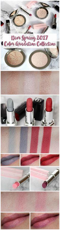 Dior Spring 2017 Colour Gradation Collection - Perilously Pale