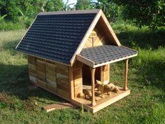 diy dog house plans for large dogs   crafts   pinterest   dog