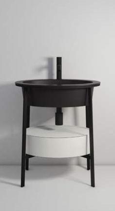 Catino ovale con cassetto - design ANDREA PARISIO and GIUSEPPE PEZZANO for Ceramica Cielo