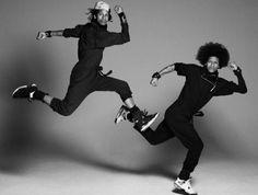 New Clip from Les Twins Showcases Their Hip-Hop Balletic Brilliance Les Twins, Wonder Twins, Inktober, Dance Movement, Dance Class, Identical Twins, Film School, Best Dance, Street Dance
