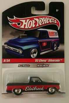 Hot Wheels '83 Chevy Silverado - Delivery Truck Series -#8 Real Riders