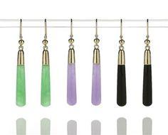 Iris Drop Earrings- Vermeil