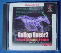 #PS1 Japanese :  Gallop Racer 2: One and Only Road to Victory SLPS 91078 http://www.japanstuff.biz/ CLICK THE FOLLOWING LINK TO BUY IT ( IF STILL AVAILABLE ) http://www.delcampe.net/page/item/id,0374761077,language,E.html