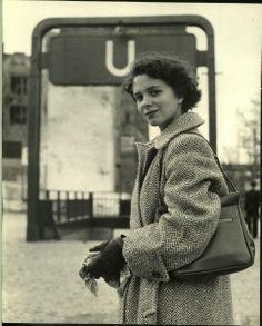 Nina Leen.  Berlin 1950