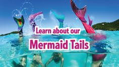 Mermaid Tails this is a real thing! who knew?