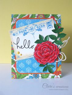 Clare's creations: Hello!