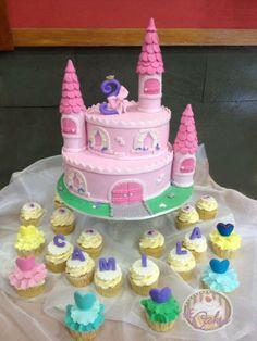 Children's Birthday Cakes - Un Castillo para la princesa Camila / A castle for princess Camila
