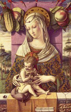 Carlo Crivelli - Virgen y el Niño.