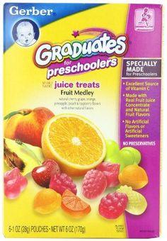 Gerber Graduates Juice Treats, Fruit Medley, 6-Ounce Pouches (Pack of 6) by Gerber, http://www.amazon.com/dp/B001E50U32/ref=cm_sw_r_pi_dp_Pl.Qrb05DC65R