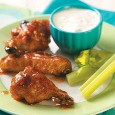 Chicken Wings Recipes from Taste of Home, including Apricot Chicken Wings Recipe