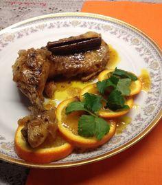 Κοτόπουλο+με+πορτοκάλι Yams, Greek Recipes, Main Dishes, Steak, Pork, Beef, Chicken, Food Food, Greece