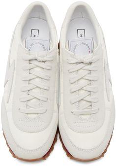 Marc Jacobs - White Astor Lightning Bolt Sneakers