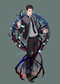 Detroit become human Connor By: LY 炼妖