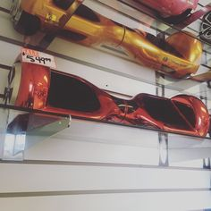 Red electroplate Dailysaw such a comfortable ride for the user #StreetSaw # comfortable #Hoverboard