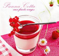 Recette panna cotta aux fruits rouges #blancheporte