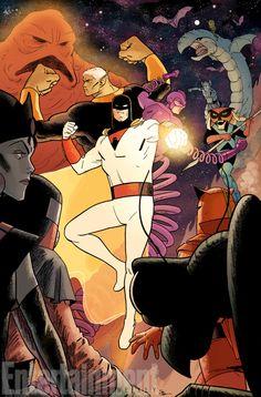Os personagens do universo de Hanna-Barbera estão de volta pela DC Entertainment, pelas mãos de Dan DiDio e muitos roteiristas e ilustradores respeitados como Jim Lee - Space Ghost
