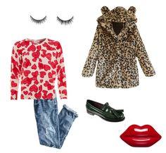 Osito amoroso... Polyvore, Image, Fashion, Moda, Fasion, Fashion Illustrations, Fashion Models