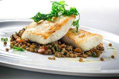 Leckerster Fisch und knackige Linsen - Bei diesem Linsengericht fühlt sich keiner über den Tisch gezogen ;-)