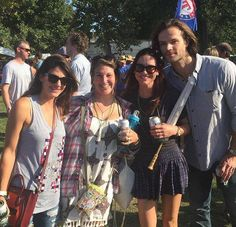 via @ProudIdjit  Check out Crt72's fan pic on Instagram! With @DanneelHarris @realGpad and @jarpad at #ACL !!!!