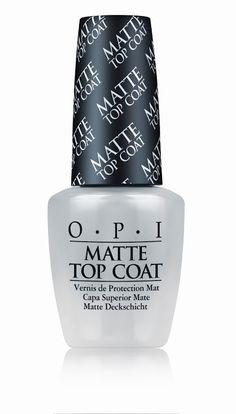 OPI Matte top coat!!