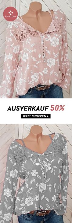 Floral V-Neck Long Sleeve Blouse- Floral V-Ausschnitt Langarm Bluse Sometimes a miracle happens, catch it now! Small Space Interior Design, Interior Design Living Room, Living Room Decor, How To Stretch Boots, Elegant Dresses, Design Trends, Floral, Clothes For Women, Stylish