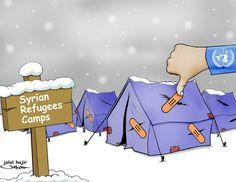 internatiol aid for Syrian refugees