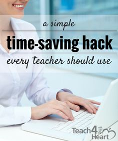 To state it simply, teachers are busy. There's always too much to do and too little time. But one way that you can save time and make your life a little easier is to create email templates.