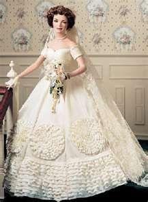 Jacqueline Kennedy Heirloom Bride Porcelain Doll