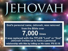 """Both Jehovah and Jesus are called """"Lord"""". Who caused the confusion? http://t1.vc/tw/rIB … /"""