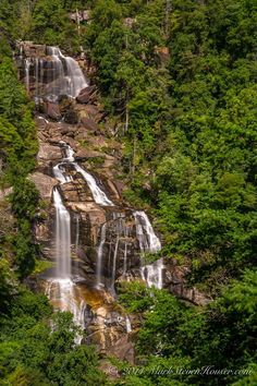 whitewater falls by Mark Houser