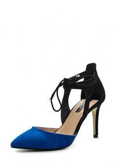 Туфли Dorothy Perkins, цвет: синий. Артикул: DO005AWHQB48. Женская обувь / Туфли