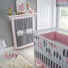 Pretty colour scheme for a baby room
