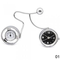 Table Clock with Thermometer