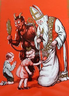 krampus and santa - Google Search