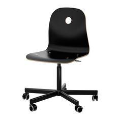 VÅGSBERG/SPORREN Työtuoli IKEA Säädettävän istumakorkeuden ansiosta tuolissa on helppo löytää hyvä asento.
