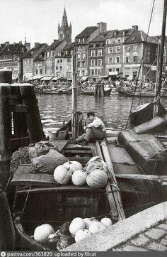 Fischmarkt Koenigsberg 1928