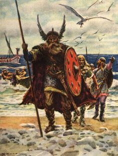 The Vikings came from their homes in Scandinavia, from the countries we now call Norway, Sweden and Denmark. The name Viking comes from the language which is called 'old Norse'. In Norse Vikings means 'piracy'. They are also called 'North men'. The Vikings, Norse Vikings, Ancient Vikings, Viking Warrior, Viking Age, Viking Shield, Viking Runes, Viking Meaning, Leif Erikson